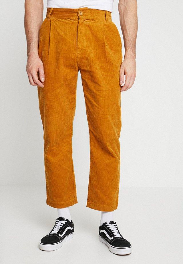 PANT - Kalhoty - mustard