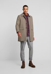 Native Youth - BASINGSTOKE OVERCOAT - Krátký kabát - brown - 1