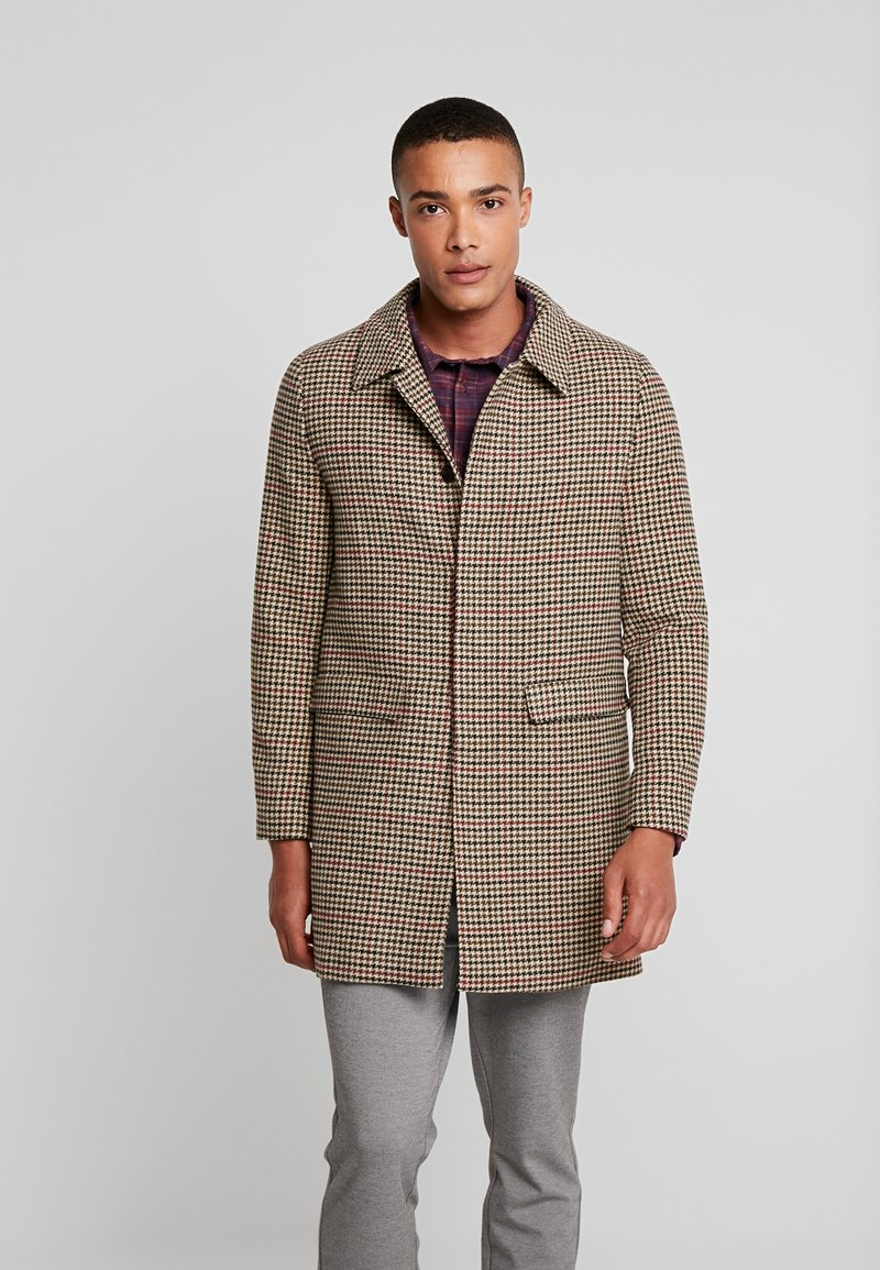 Native Youth - BASINGSTOKE OVERCOAT - Krátký kabát - brown