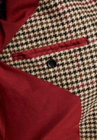 Native Youth - BASINGSTOKE OVERCOAT - Krátký kabát - brown - 4