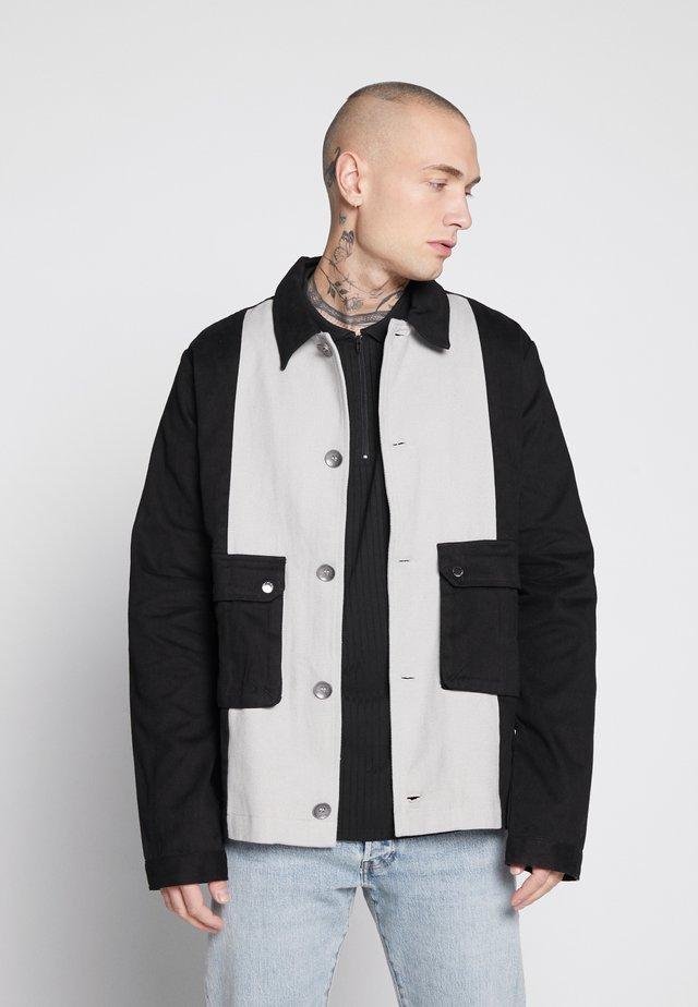 AMPEZZO SHACKET - Summer jacket - black