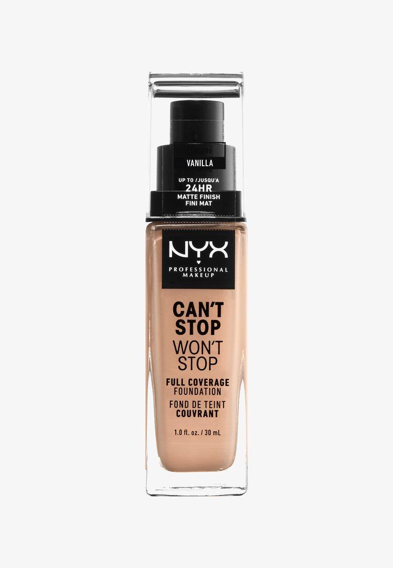 Nyx Professional Makeup - CAN'T STOP WON'T STOP FOUNDATION - Fond de teint - 6 vanilla