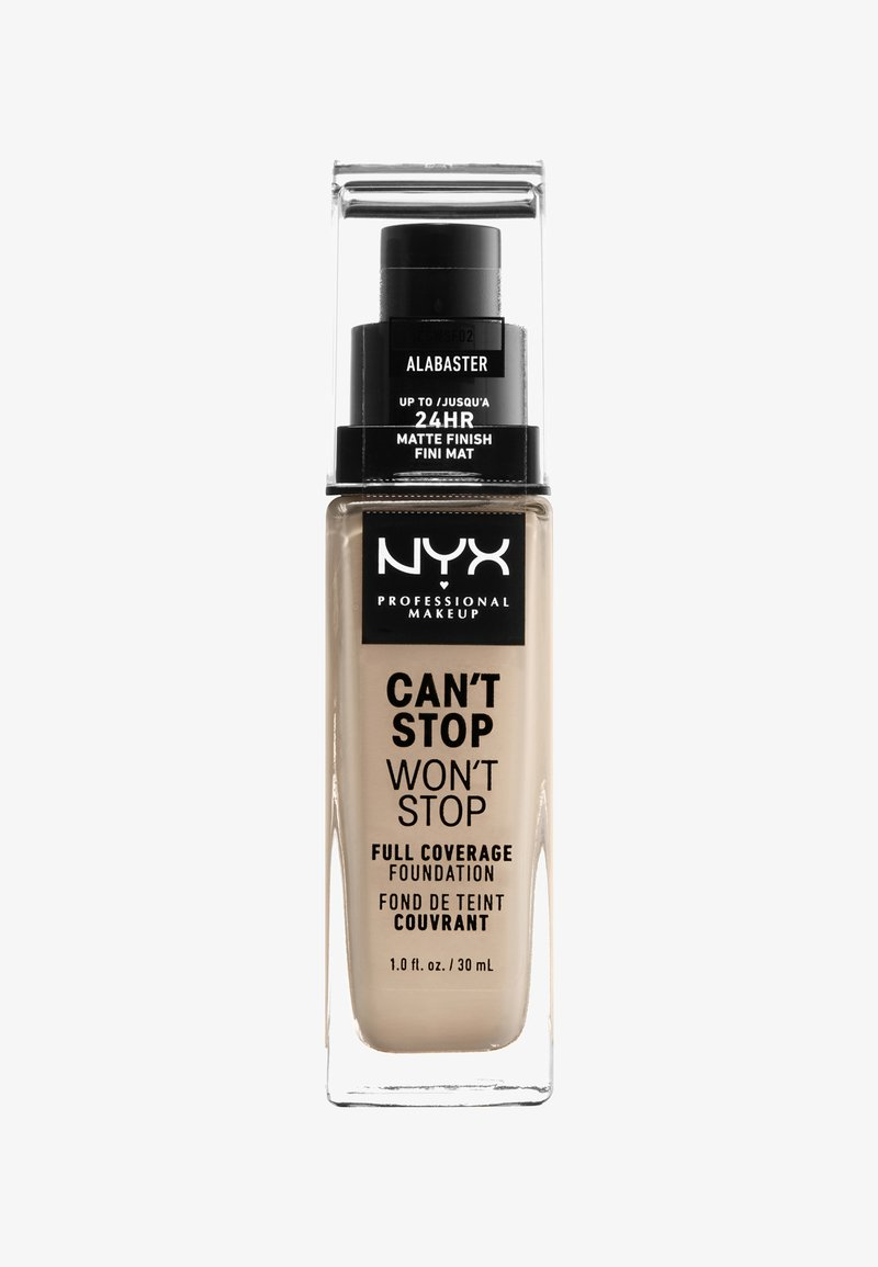 Nyx Professional Makeup - CAN'T STOP WON'T STOP FOUNDATION - Fond de teint - 2 alabaster