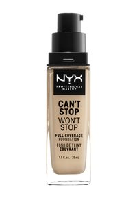Nyx Professional Makeup - CAN'T STOP WON'T STOP FOUNDATION - Podkład - 6-märz warm vanilla