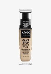 Nyx Professional Makeup - CAN'T STOP WON'T STOP FOUNDATION - Foundation - 6-märz warm vanilla - 0