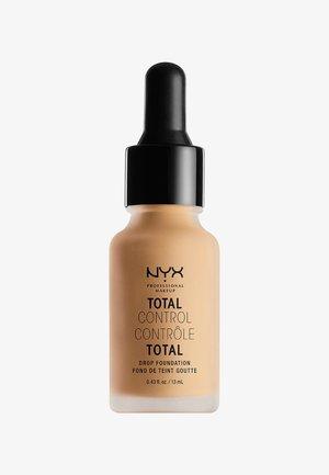 TOTAL CONTROL DROP FOUNDATION - Foundation - 8 true beige