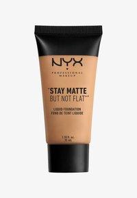 Nyx Professional Makeup - STAY MATTE NOT FLAT LIQUID FOUNDATION - Fond de teint - 8 golden beige - 0