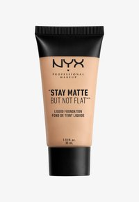 Nyx Professional Makeup - STAY MATTE NOT FLAT LIQUID FOUNDATION - Foundation - 4 creamy natural - 0