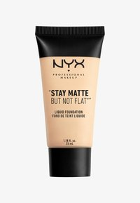 Nyx Professional Makeup - STAY MATTE NOT FLAT LIQUID FOUNDATION - Fond de teint - 1 ivory - 0