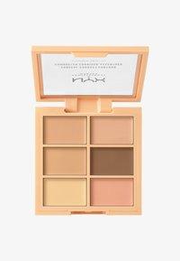 Nyx Professional Makeup - 3C PALETTE CONCEAL,CORRECT,CONTOUR - Palette pour le visage - 1 light - 0