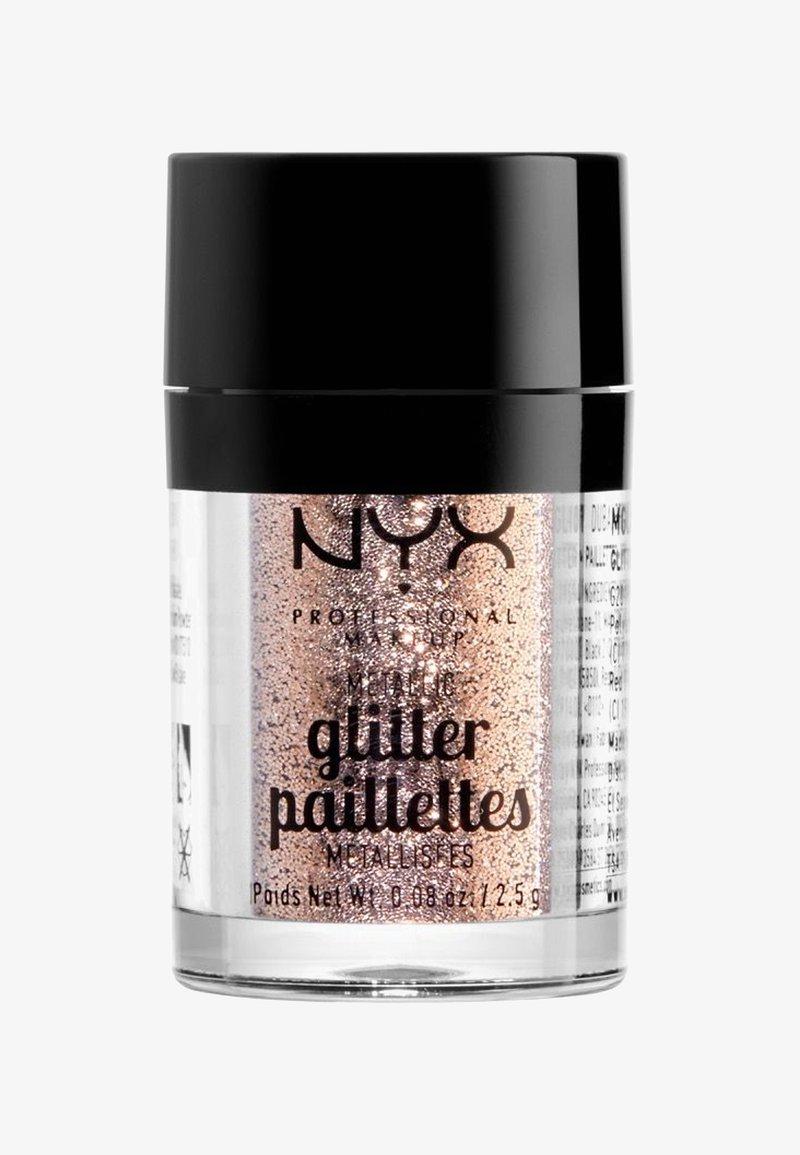 Nyx Professional Makeup - METALLIC GLITTER - Brokat - 4 goldstone