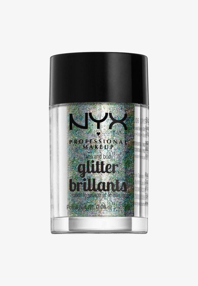 FACE & BODY GLITTER - Brokat - 6 crystal