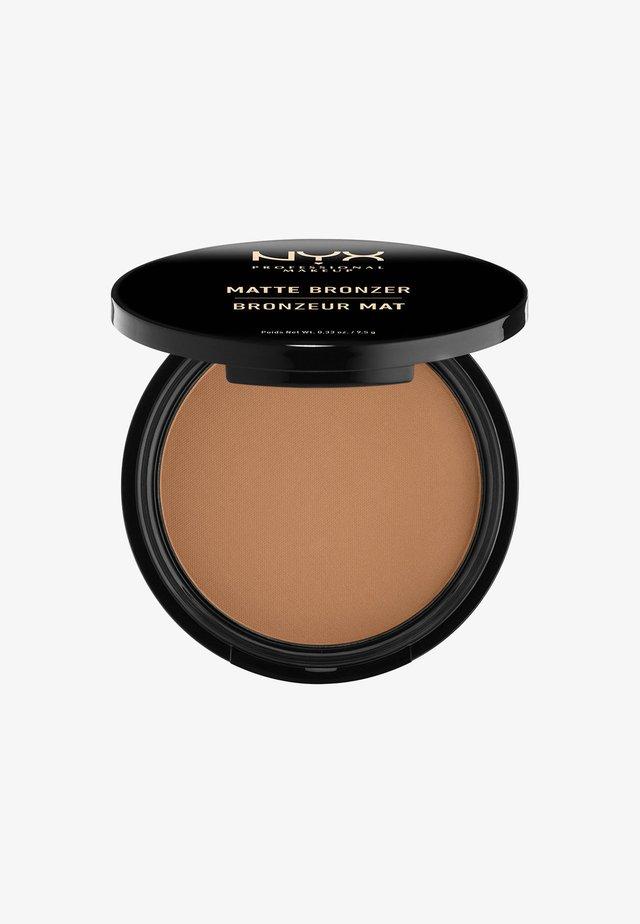 MATTE BODY BRONZER - Bronzer - 5 deep tan