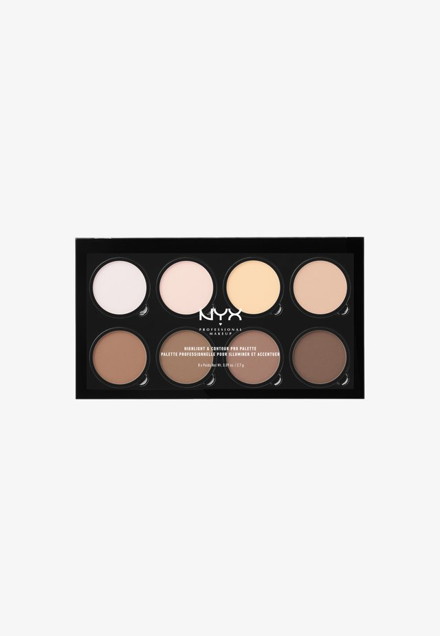 HIGHLIGHT & CONTOUR PRO PALETTE - Face palette - -