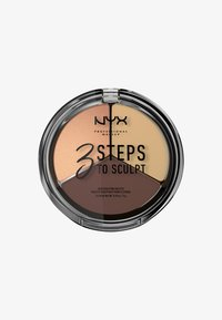 Nyx Professional Makeup - 3 STEPS TO SCULPT - Contouring - 3 medium - 0