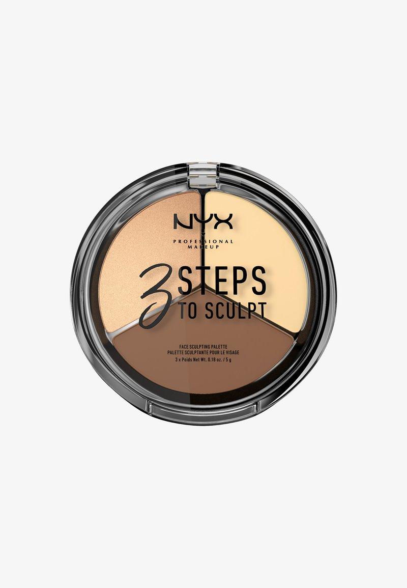Nyx Professional Makeup - 3 STEPS TO SCULPT - Produits pour le contouring - 2 light