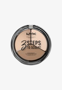 Nyx Professional Makeup - 3 STEPS TO SCULPT - Konturowanie - 1 fair - 0