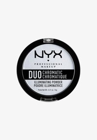 Nyx Professional Makeup - DUO CHROMATIC ILLUMINATING POWDER - Highlighter - 1 twilight tint - 0