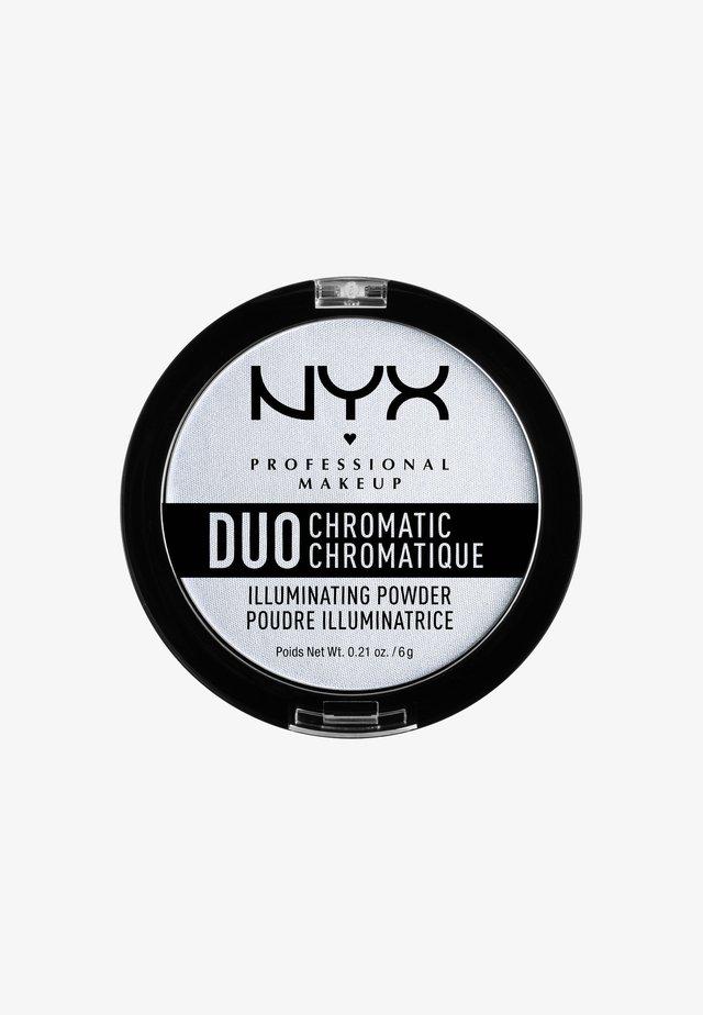 DUO CHROMATIC ILLUMINATING POWDER - Rozświetlacz - 1 twilight tint