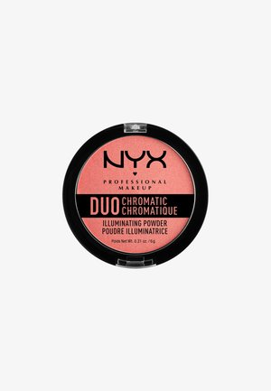 DUO CHROMATIC ILLUMINATING POWDER - Highlighter - 3 crushed bloom