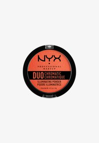 Nyx Professional Makeup - DUO CHROMATIC ILLUMINATING POWDER - Hightlighter - 5 synthetica - 0