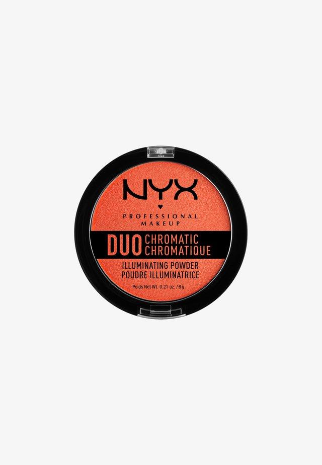 DUO CHROMATIC ILLUMINATING POWDER - Rozświetlacz - 5 synthetica
