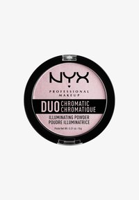 Nyx Professional Makeup - DUO CHROMATIC ILLUMINATING POWDER - Hightlighter - 2 lavender steel - 0