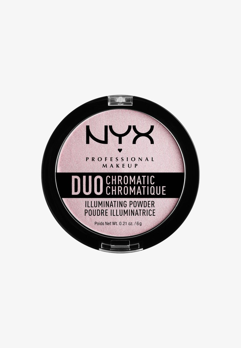 Nyx Professional Makeup - DUO CHROMATIC ILLUMINATING POWDER - Hightlighter - 2 lavender steel