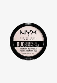 Nyx Professional Makeup - DUO CHROMATIC ILLUMINATING POWDER - Highlighter - 4 snow rose - 0