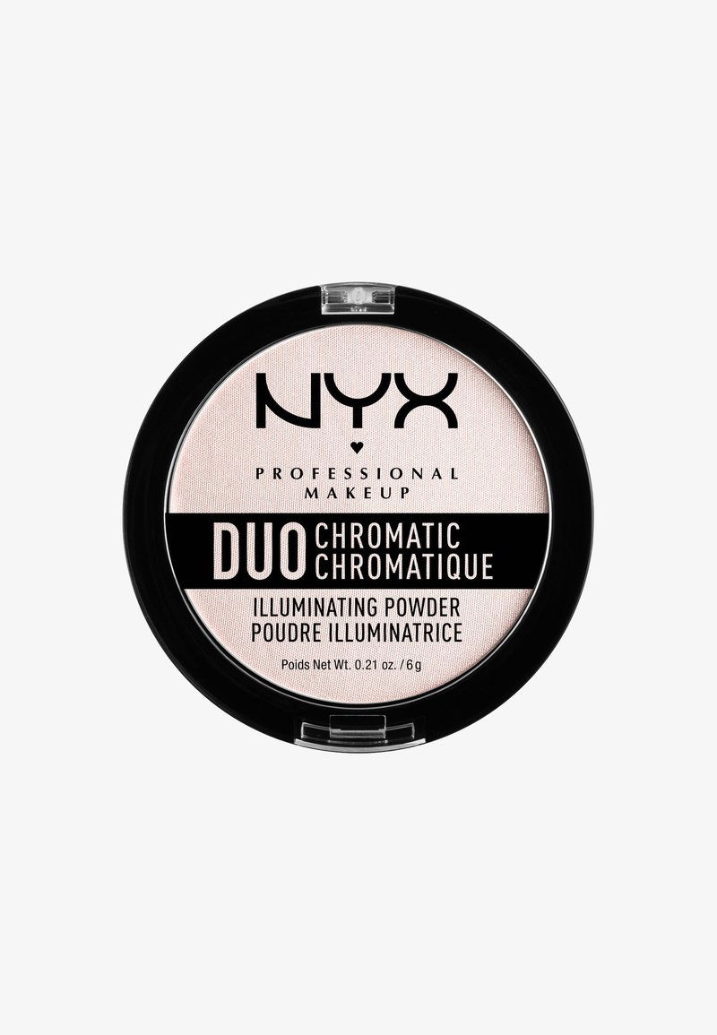 Nyx Professional Makeup - DUO CHROMATIC ILLUMINATING POWDER - Highlighter - 4 snow rose