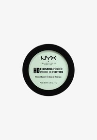 Nyx Professional Makeup - HIGH DEFINITION FINISHING POWDER - Spray fixant & poudre - 3 mint green - 0
