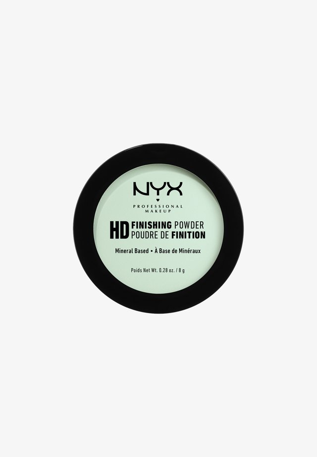 HIGH DEFINITION FINISHING POWDER - Utrwalanie makijażu - 3 mint green