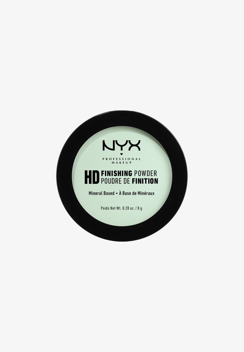 Nyx Professional Makeup - HIGH DEFINITION FINISHING POWDER - Spray fixant & poudre - 3 mint green
