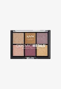 Nyx Professional Makeup - COSMIC METALS SHADOW PALETTE - Palette fard à paupière - - - 0