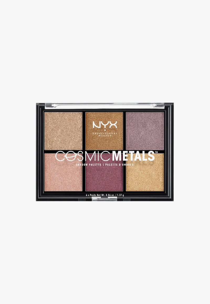 Nyx Professional Makeup - COSMIC METALS SHADOW PALETTE - Palette fard à paupière - -