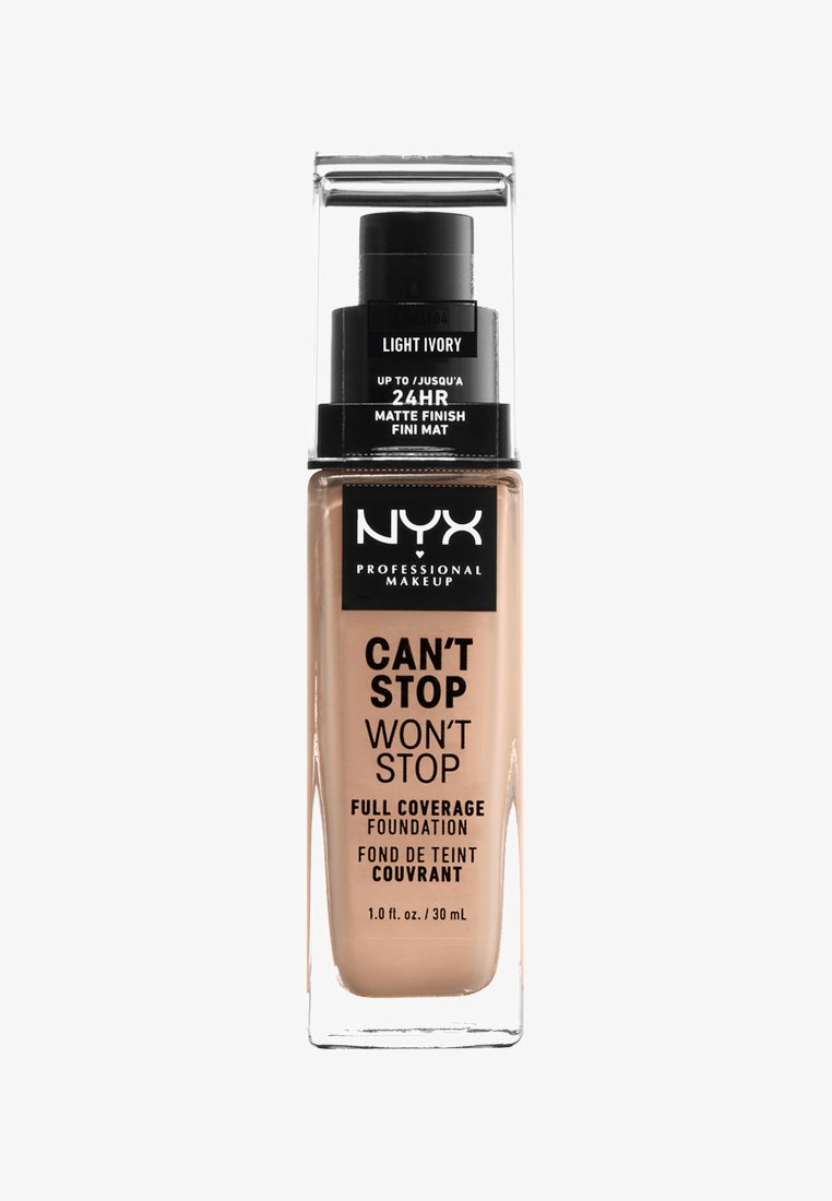 Nyx Professional Makeup - CAN´T STOP WON´T STOP 24H FOUNDATION - Fond de teint - 4 light ivory