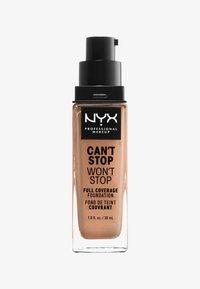 Nyx Professional Makeup - CAN´T STOP WON´T STOP 24H FOUNDATION - Fond de teint - 43595 medium buff - 0