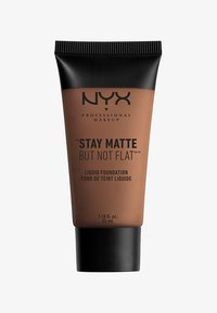 Nyx Professional Makeup - STAY MATTE NOT FLAT - Foundation - 19 cocoa - 0