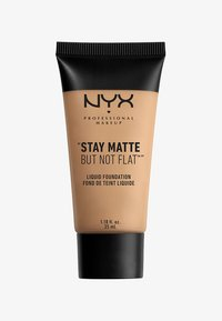 Nyx Professional Makeup - STAY MATTE NOT FLAT - Foundation - 6 medium beige - 0