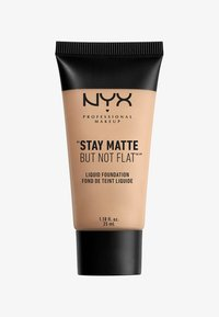 Nyx Professional Makeup - STAY MATTE NOT FLAT - Foundation - 43647 nude beige - 0