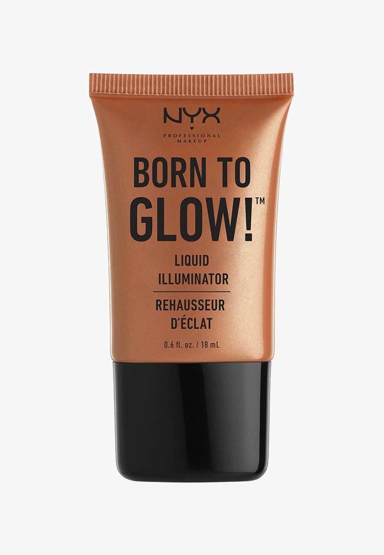 Nyx Professional Makeup - HIGHLIGHTER BORN TO GLOW LIQUID ILLUMINATOR - Highlighter - 4