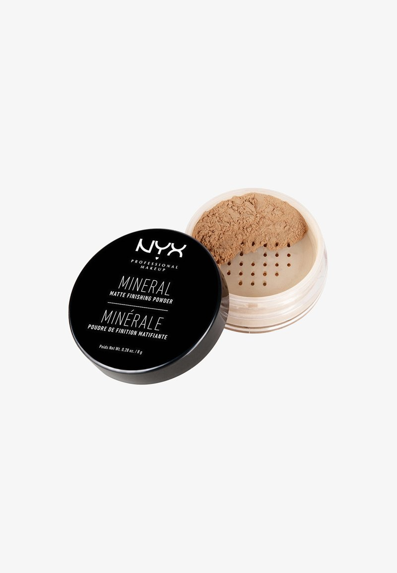 Nyx Professional Makeup - MINERAL FINISHING POWDER - Puder - 2 medium-dark