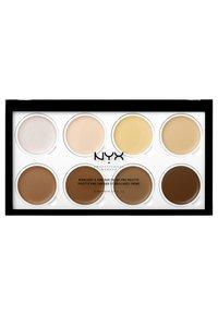 Nyx Professional Makeup - HIGHLIGHT & CONTOUR CREAM PRO PALETTE - Palette pour le visage - - - 1