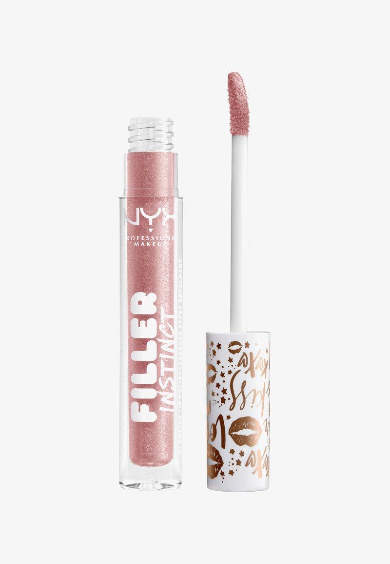 Nyx Professional Makeup - FILLER INSTINCT PLUMPING LIP POLISH - Lip gloss - 3 sparkling please