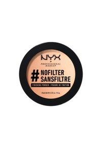 Nyx Professional Makeup - NOFILTER FINISHING POWDER - Poudre - 2 porcelain - 1