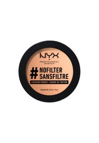 Nyx Professional Makeup - NOFILTER FINISHING POWDER - Poudre - 7 medium olive - 1
