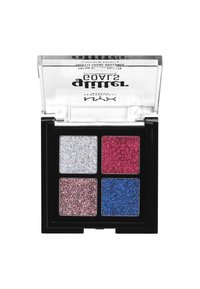 Nyx Professional Makeup - GLITTER GOALS CREAM QUAD PALETTE - Eyeshadow palette - 3 love on top - 1