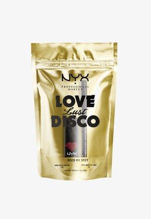 LOVE LUST DISCO SUEDE MATTE LIPSTICK SET - Set de maquillage - spicy