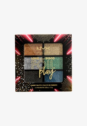 LOVE LUST DISCO FOIL PLAY CREAM EYE PALETTE - Oogschaduwpalet - let's groove
