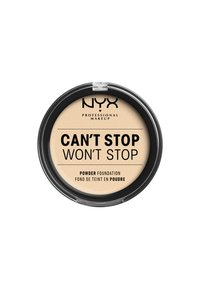 Nyx Professional Makeup - CAN'T STOP WON'T STOP POWDER FOUNDATION - Puder - CSWSPF01 pale - 1